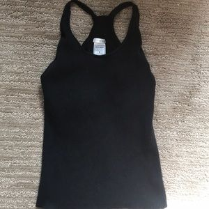 Girls casual Old Navy black tank top size small